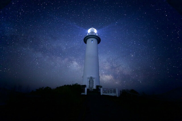 伊豆の爪ヶ崎灯台